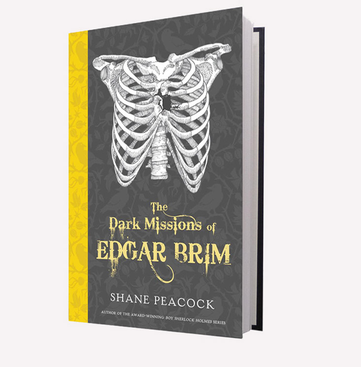 Cover, paperback version of the first volume in the Edgar Brim series.