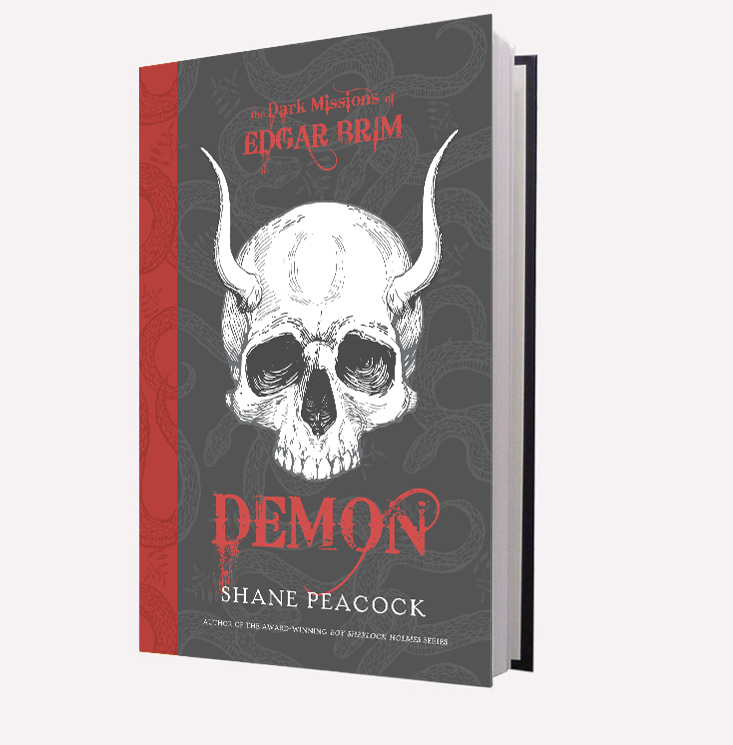 Demon, the 3rd Edgar Brim Book, available now.
