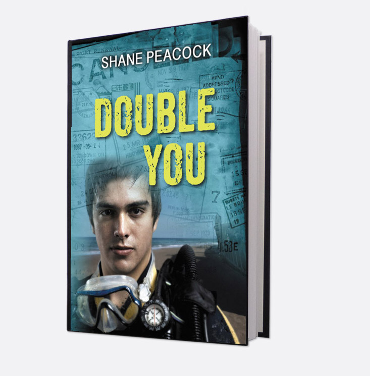 Book cover, Double You
