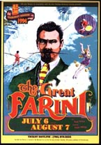 poster for theatre production of The Great Farini