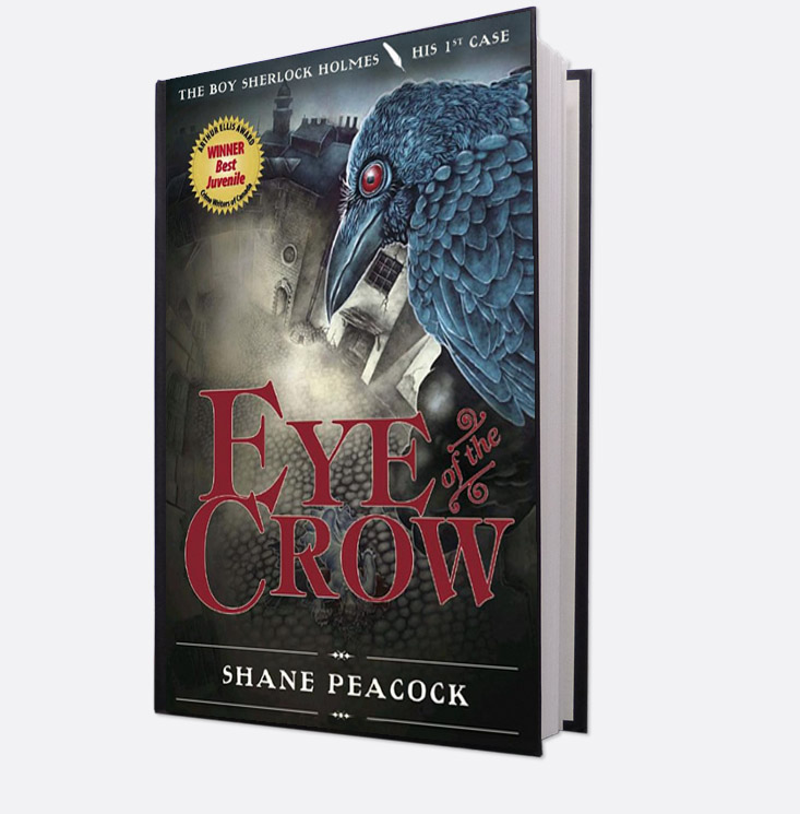 Book cover, Eye of the Crow